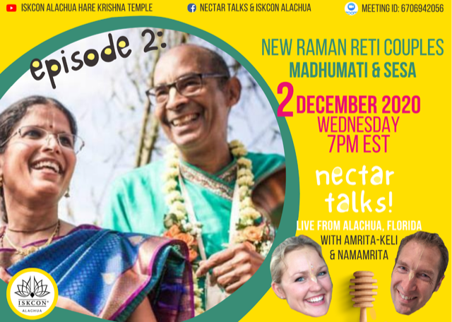Nectar Talks Episode 2: Interview with Sesa and Madhumati