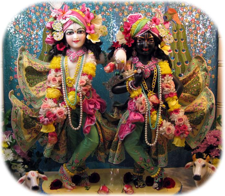 Sri Sri Krishna Balarama in New Raman Reti Dhama