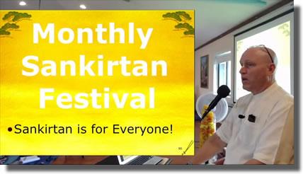 Monthly Sankirtn Festival