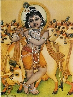 Krishna and the Cows