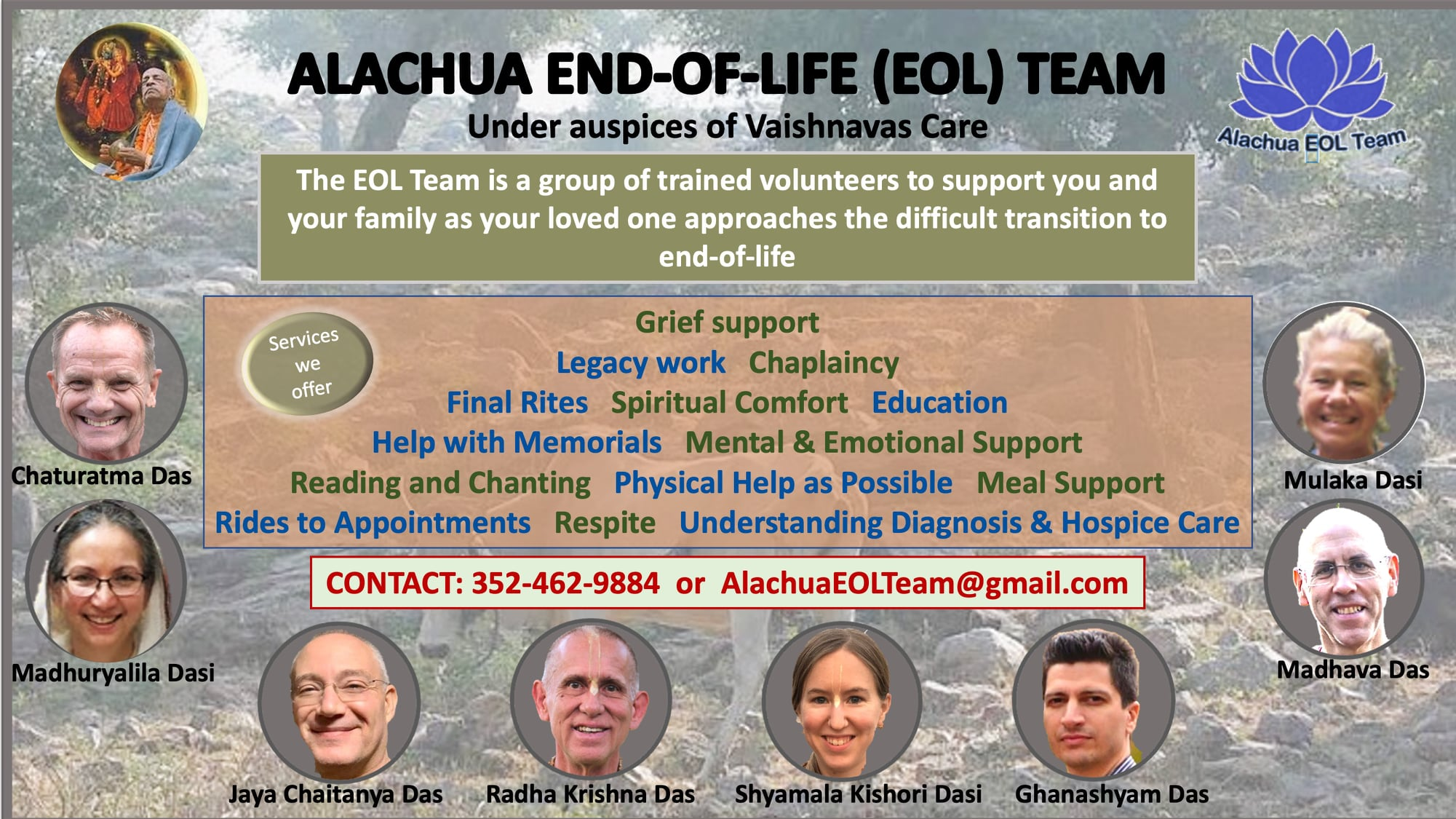 Alachua End-of-Life Team